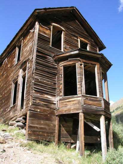 Front Elevation With Bay Window : Photo gallery forty animas forks colorado