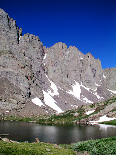 Crestone Peak and Upper South Colony Lake
