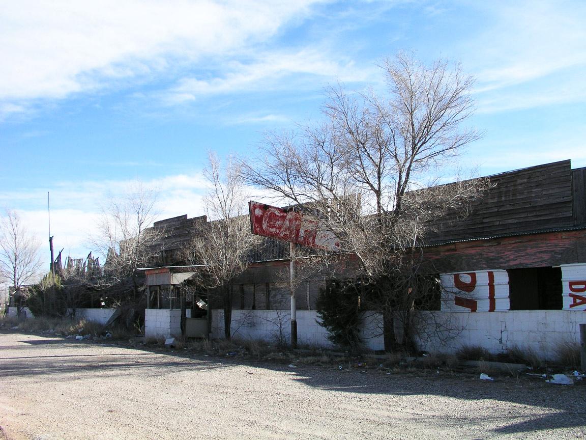 Frontier Museum Ruins.