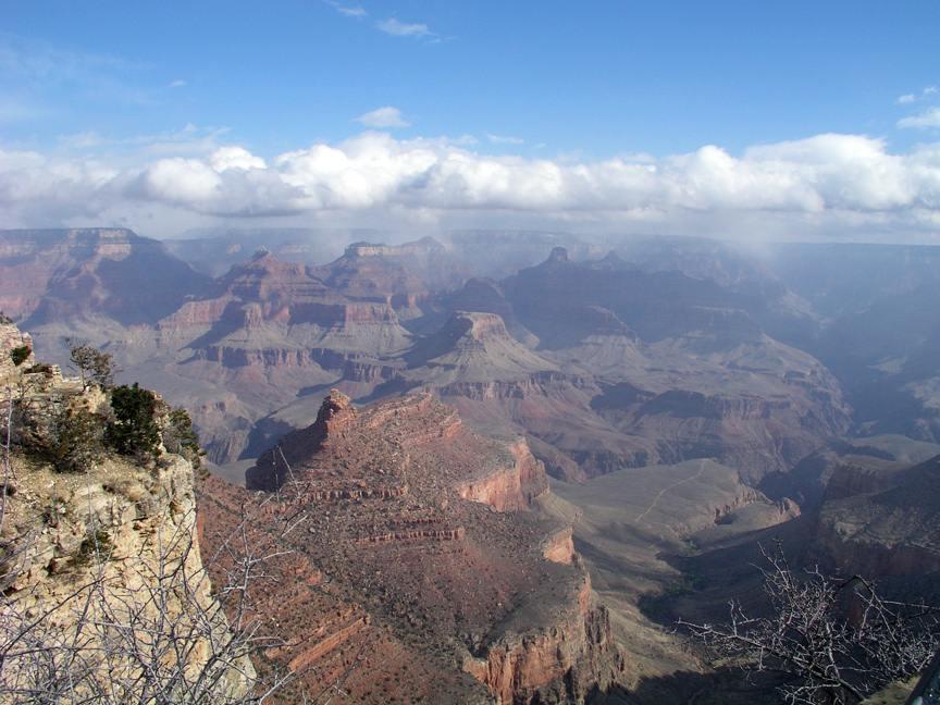 South Rim Grand Canyon Village Aoutos Hd Wallpapers